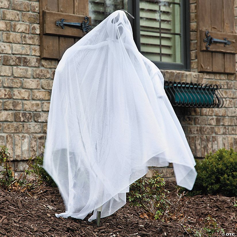 Light-Up Ghost Halloween Decoration Audio Thumbnail