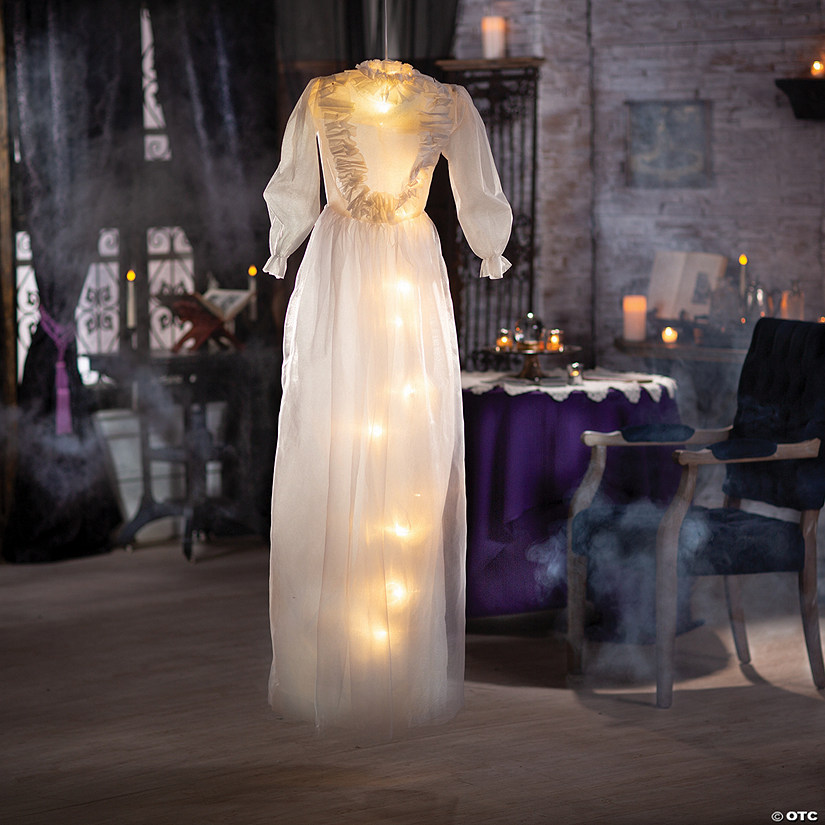 Light-Up Ghostly Dress Halloween Decoration Audio Thumbnail