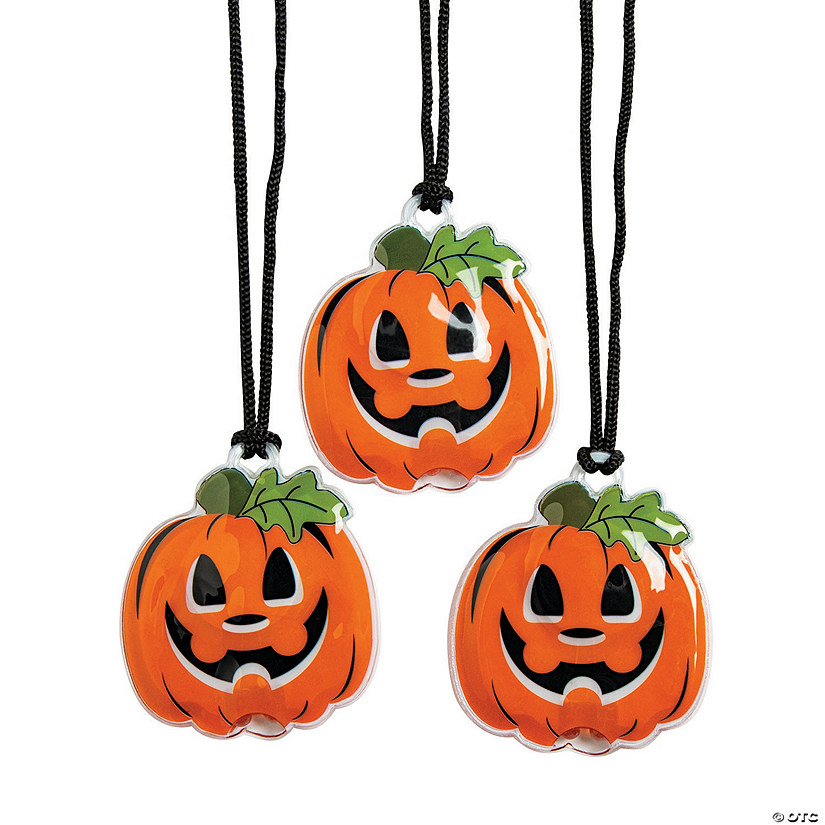 Light-Up Jack-O'-Lantern Necklaces Audio Thumbnail
