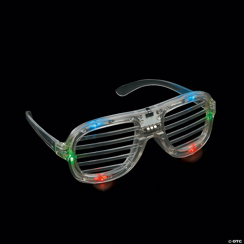 Light-Up LED Shutter Glasses Audio Thumbnail