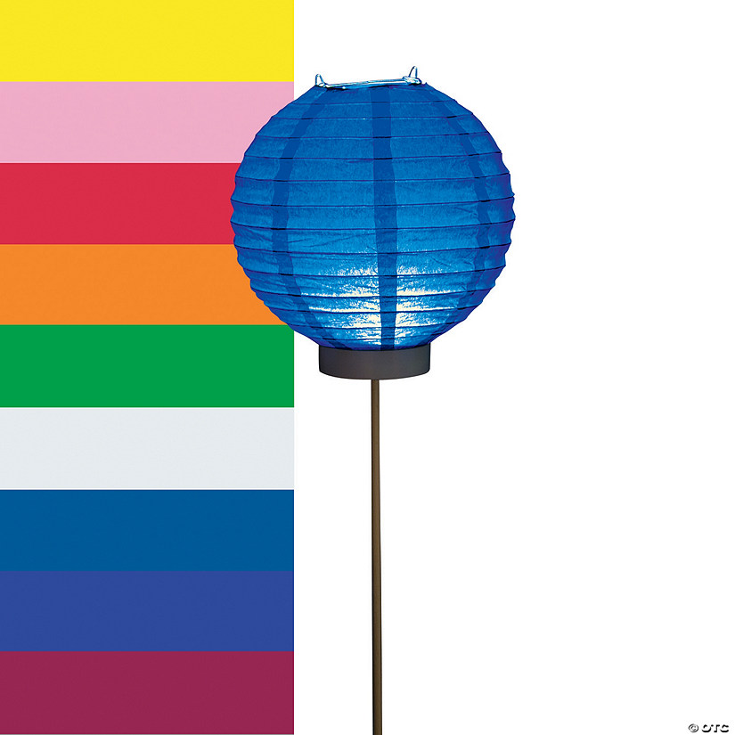 Light-Up Paper Lantern Balloons
