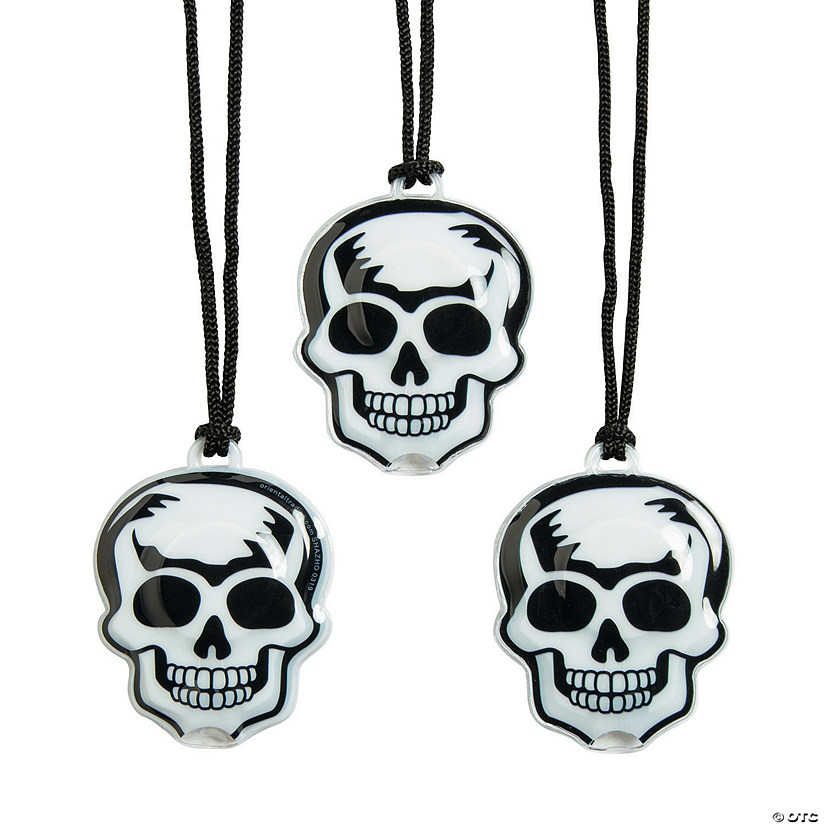 Light-Up Skull Necklaces Audio Thumbnail