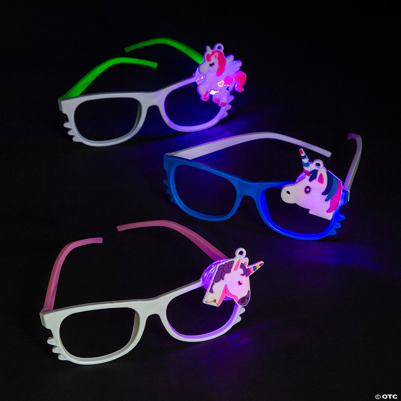 Light-Up Unicorn Glasses Image Thumbnail
