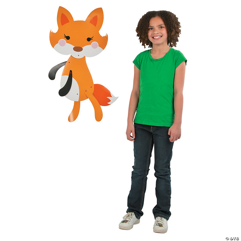 Lil' Fox Jointed Cutout
