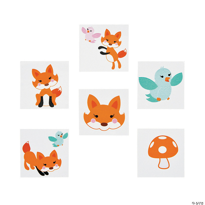 Lil' Fox Tattoos