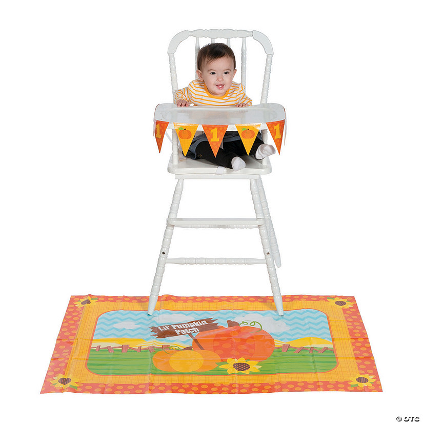 Lil' Pumpkin Birthday High Chair Kit