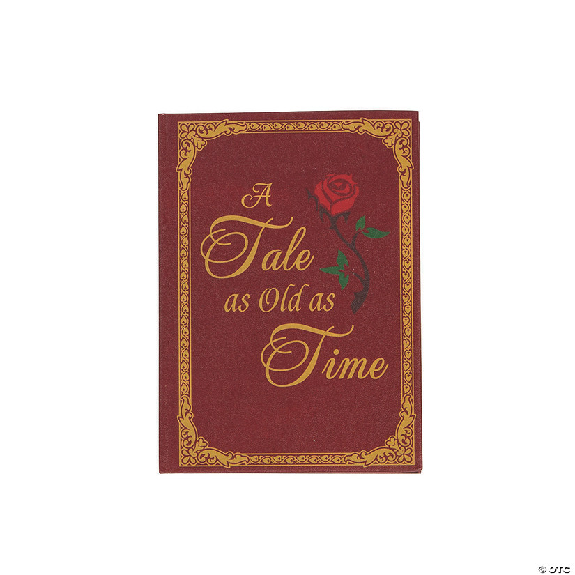 Lilian Rose™ Red & Gold Fairy Tale Storybook Ring Holder Audio Thumbnail