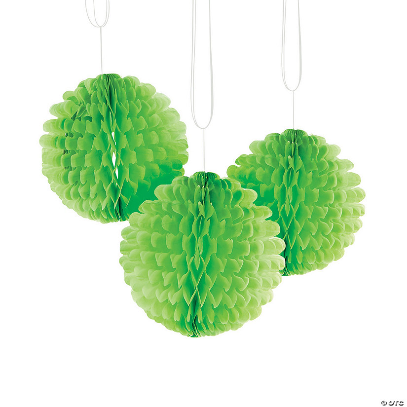 Lime Green Flutterball Tissue Décor Audio Thumbnail