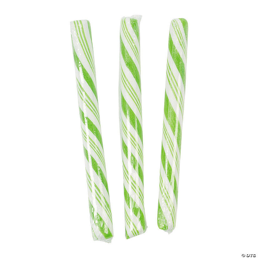 Lime Green Hard Candy Sticks