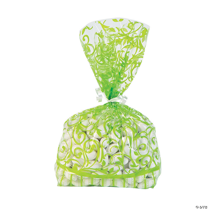Lime Green Swirl Cellophane Bags Audio Thumbnail