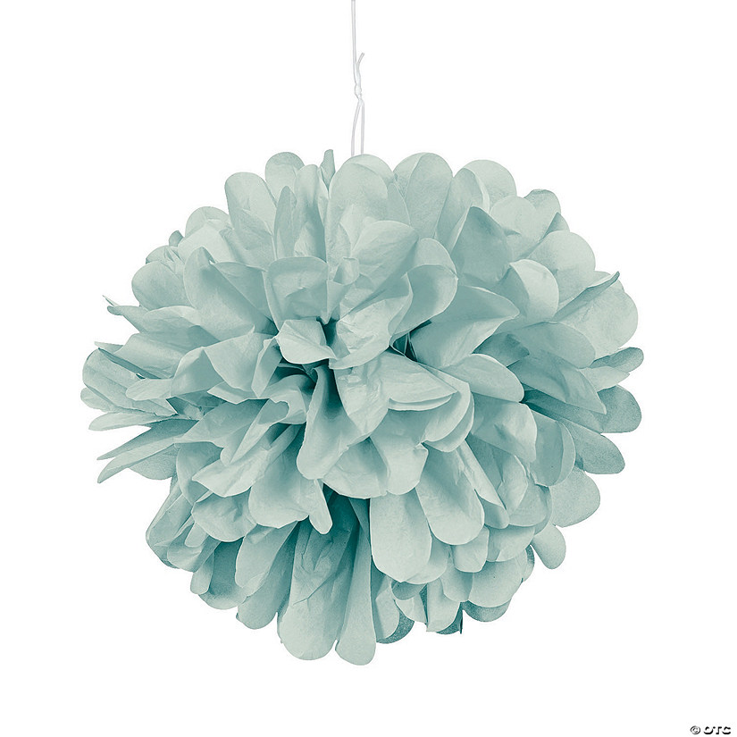 Lime Green Tissue Paper Pom-Pom Decorations Audio Thumbnail