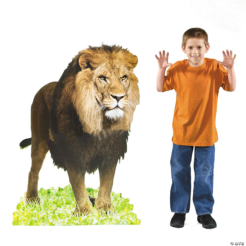 Lion Cardboard Stand-Up Audio Thumbnail