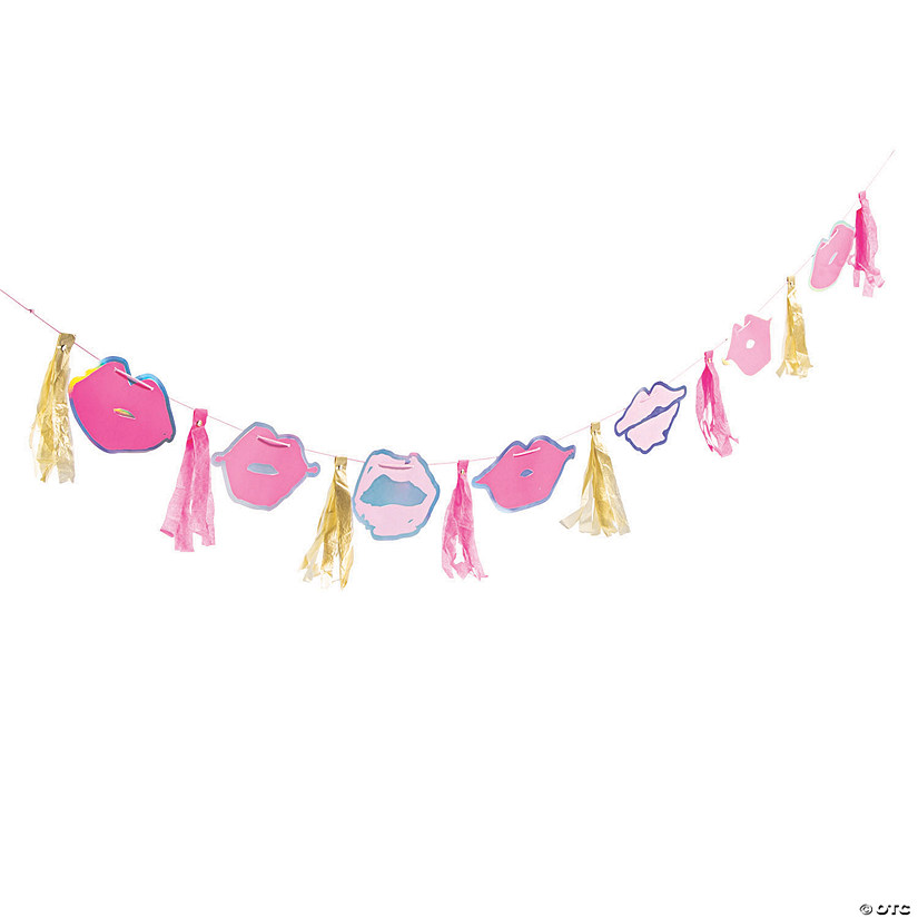 Lips Bachelorette Party Garland Audio Thumbnail
