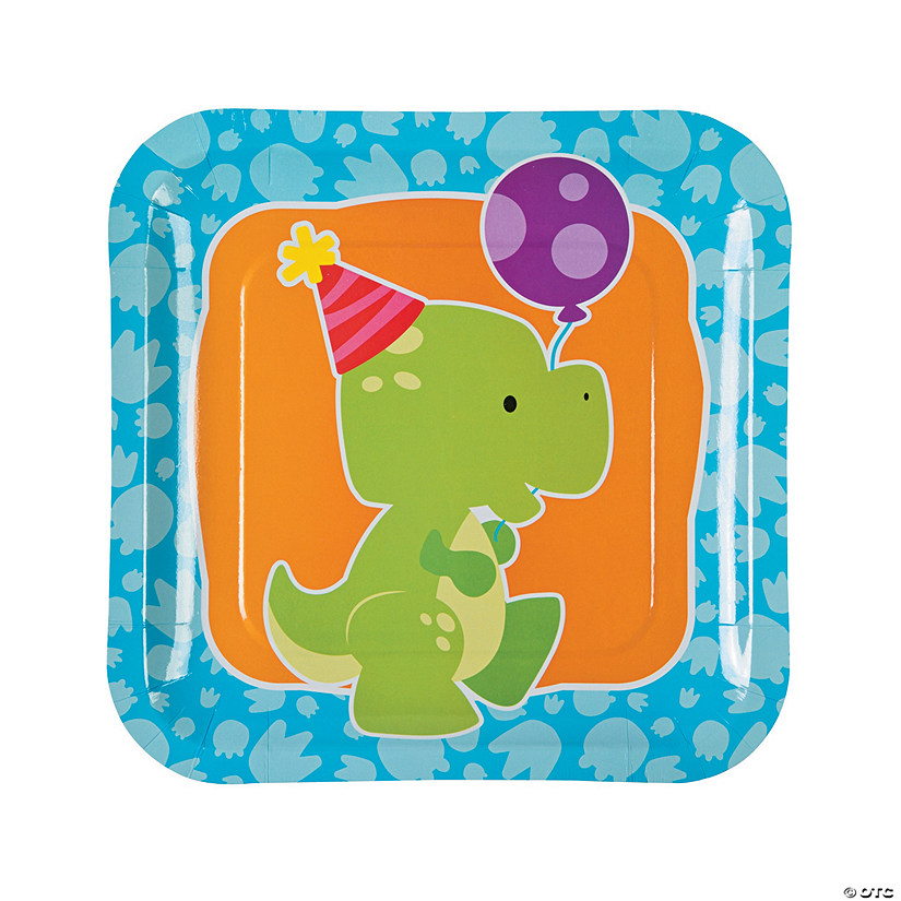 Little Dino Paper Dinner Plates Audio Thumbnail
