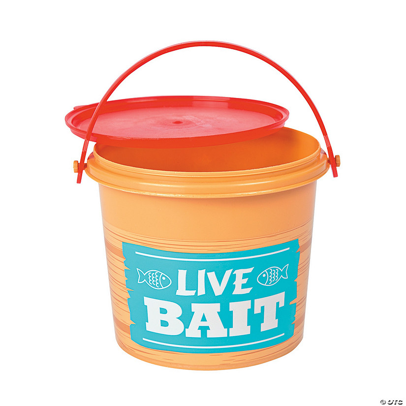 Little Fisherman Pails with Lids Image Thumbnail
