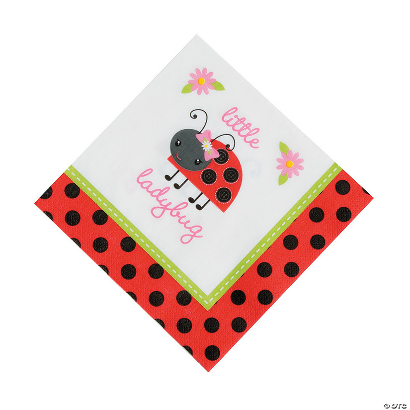 Little Ladybug Luncheon Napkins Audio Thumbnail