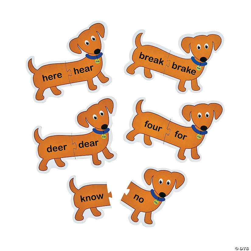 Long Dog Homophone Puzzles Audio Thumbnail