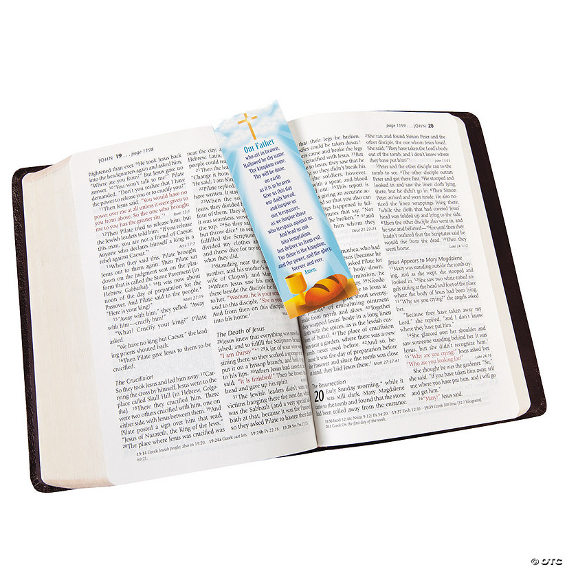 Lord's Prayer Bookmarks Audio Thumbnail