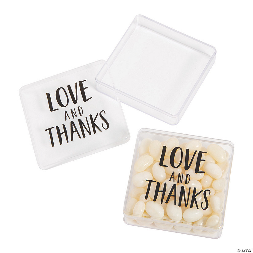 Love & Thanks Square Favor Containers Audio Thumbnail