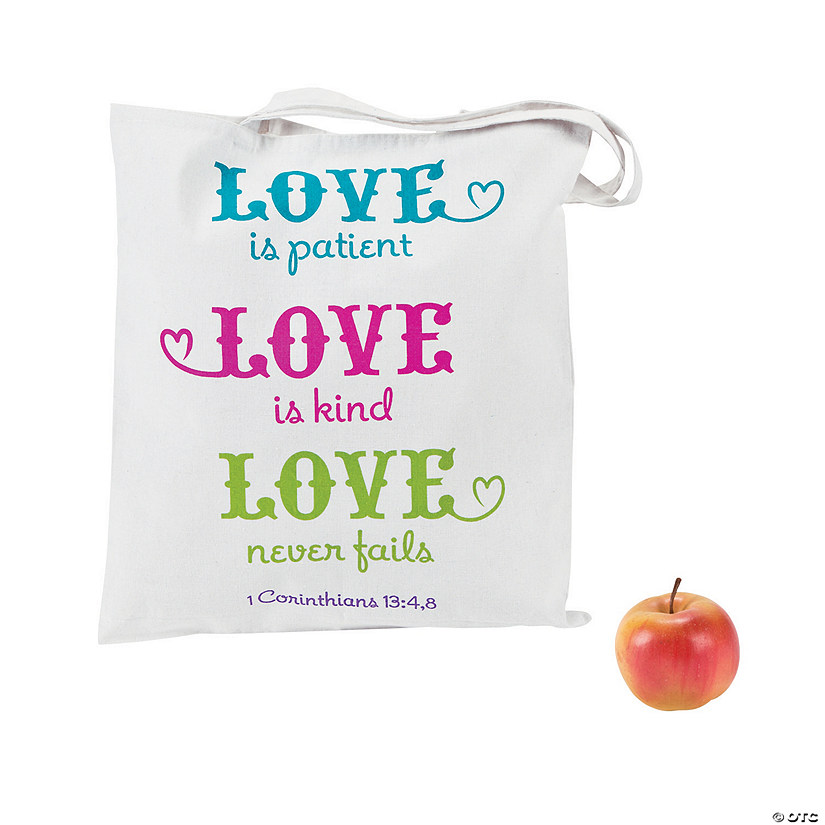 Love is Patient, Love is Kind Tote