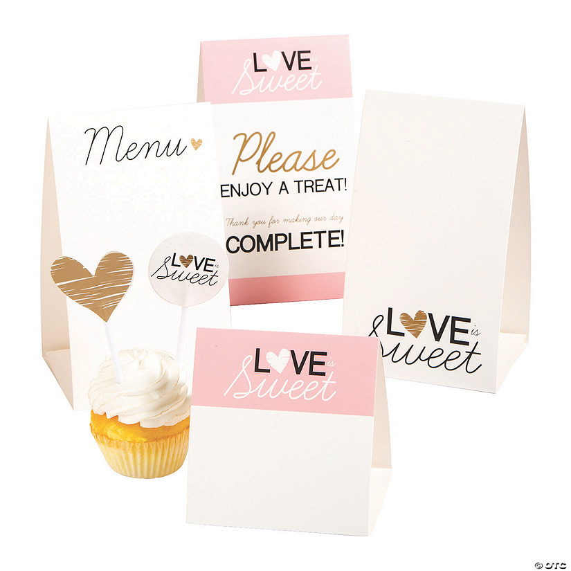 Love is Sweet Buffet Decorating Kit Audio Thumbnail