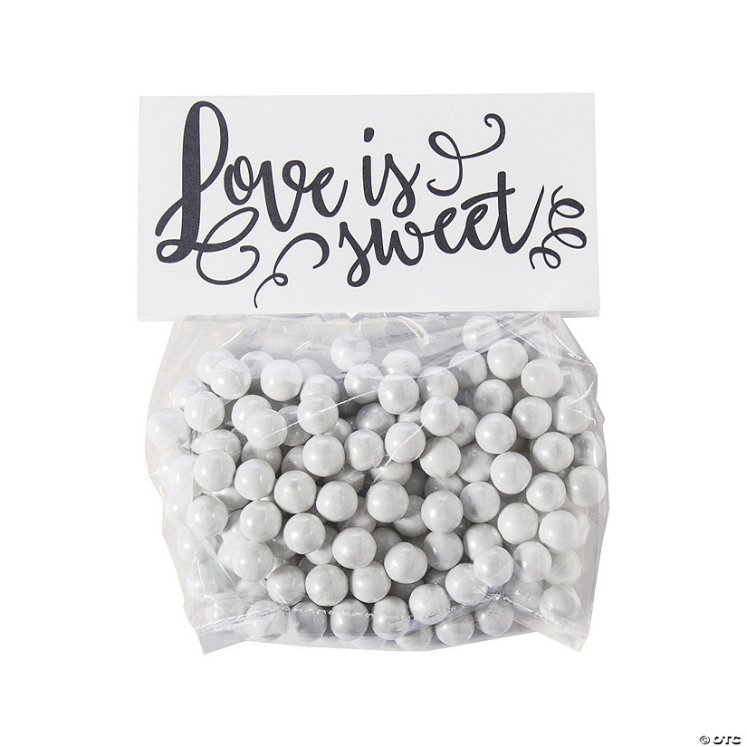Love Is Sweet Cellophane Treat Bags with Topper Audio Thumbnail