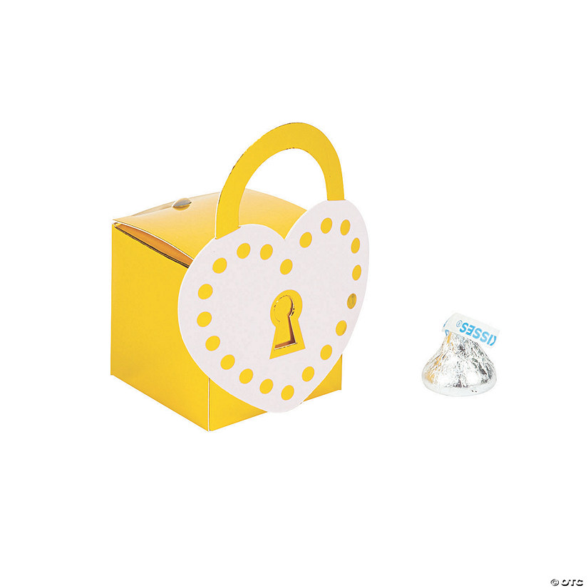 Love Lock Favor Boxes