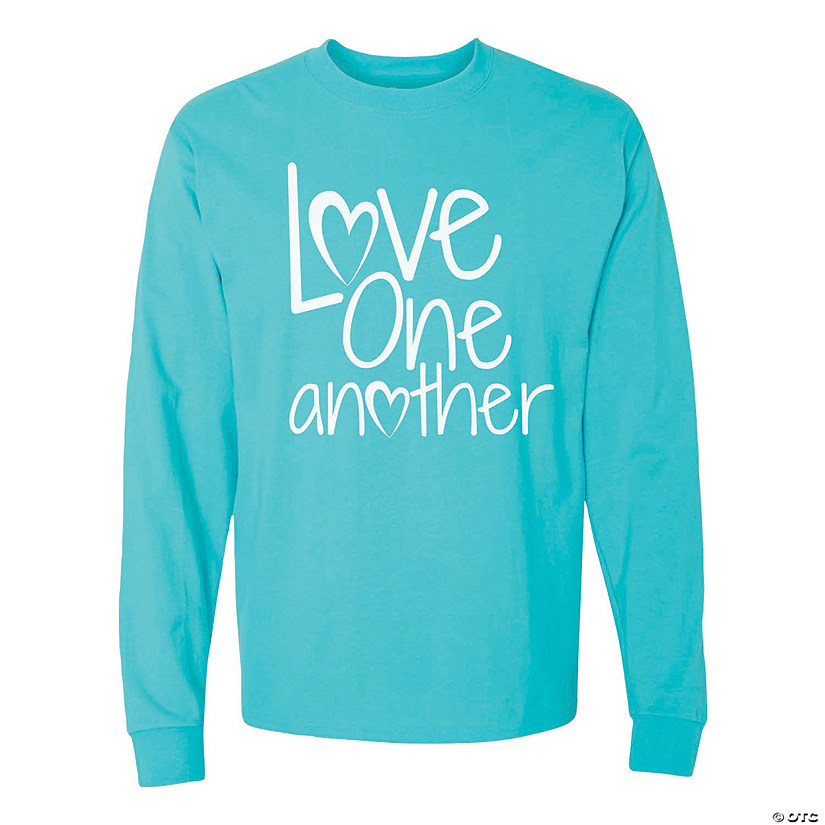 Love One Another Adult's T-Shirt Image Thumbnail