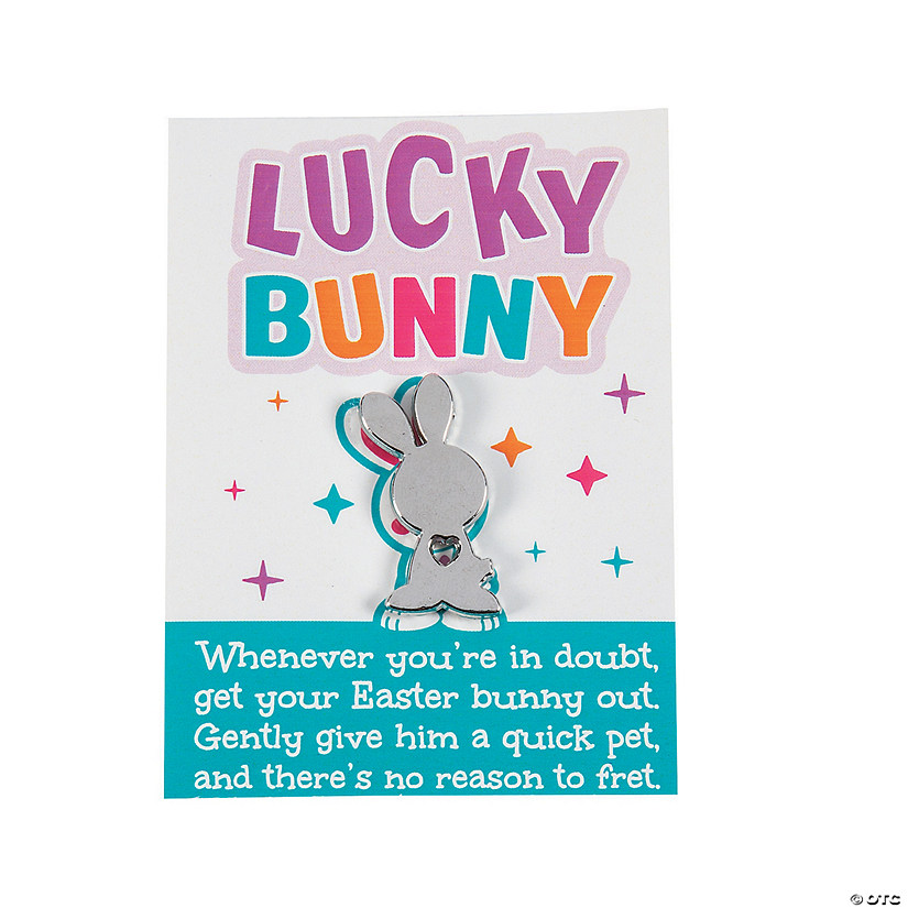 Lucky Bunny Charms with Card Image Thumbnail
