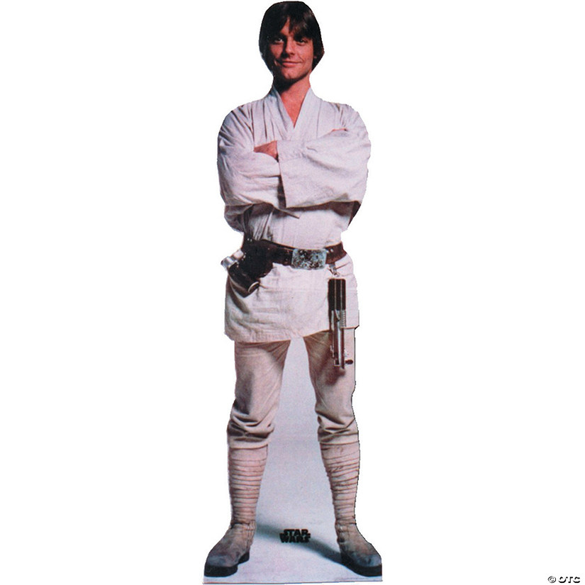 Luke Skywalker Cardboard Stand-Up Audio Thumbnail