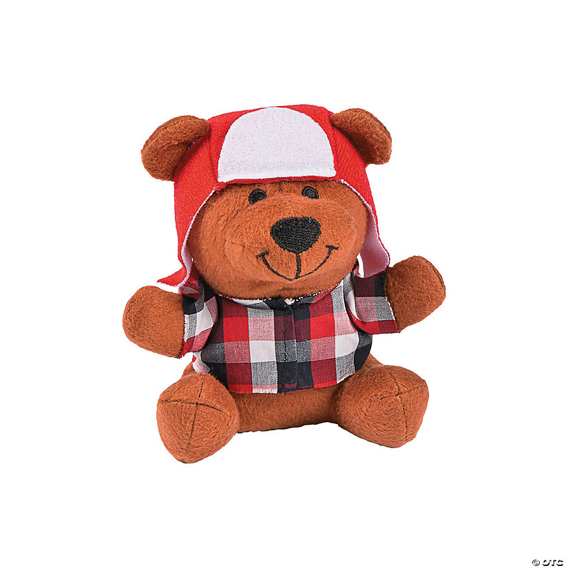 Lumberjack Stuffed Bears - Less than Perfect Image Thumbnail