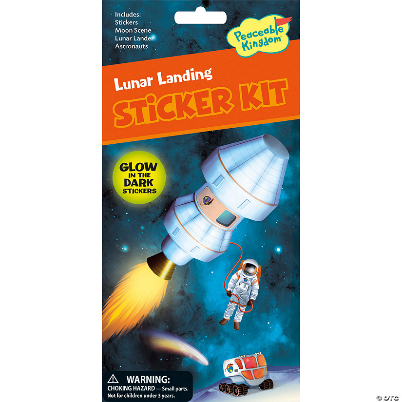 Lunar Landing Quick Sticker Kit Image Thumbnail