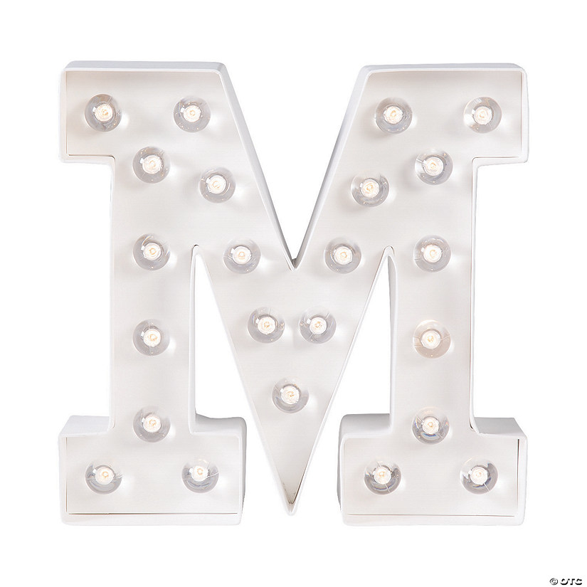 """M"" Marquee Light-Up Kit Audio Thumbnail"