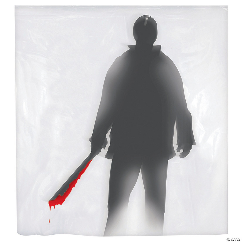 Machete Killer Shower Curtain Halloween Decoration Audio Thumbnail
