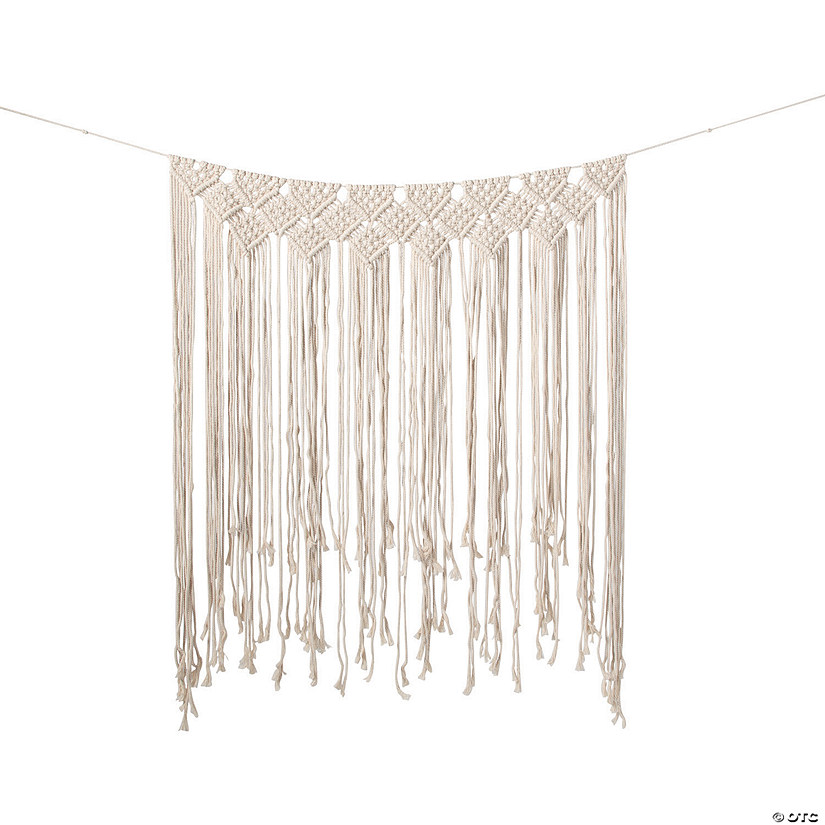 Macramé Wedding Backdrop Curtain Audio Thumbnail
