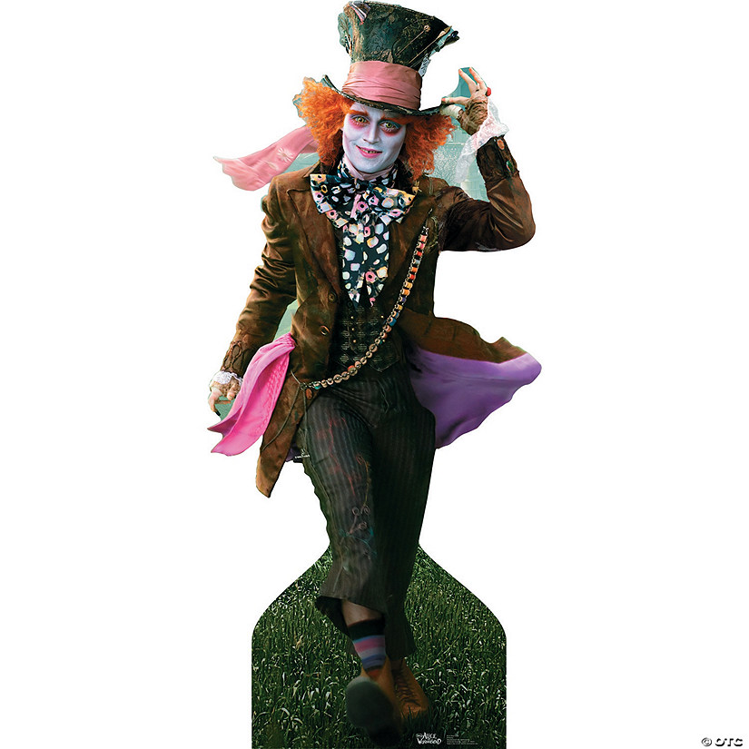 Mad Hatter - Johnny Depp Cardboard Stand-Up Audio Thumbnail