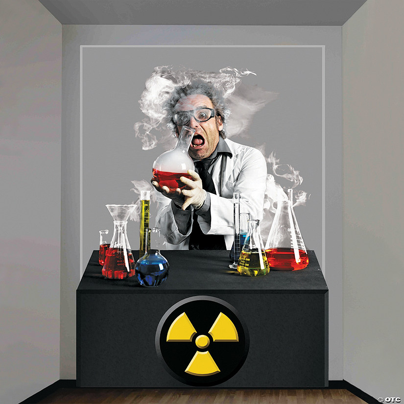 Mad Scientist Wall Decoration Audio Thumbnail