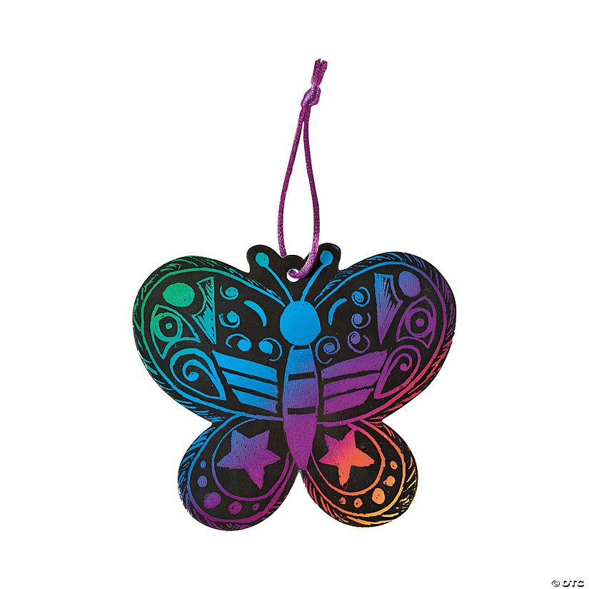 Magic Color Scratch Butterfly Ornaments Audio Thumbnail
