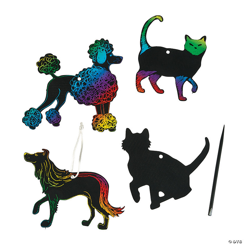 Magic Color Scratch Cats & Dogs Image Thumbnail