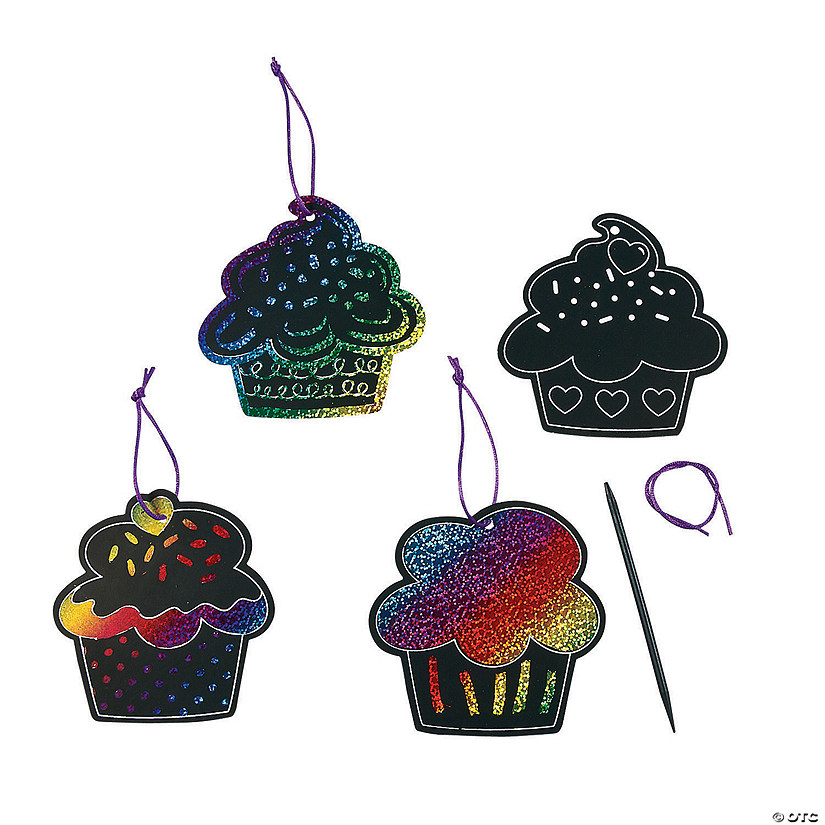 Magic Color Scratch Cupcake Ornaments Audio Thumbnail