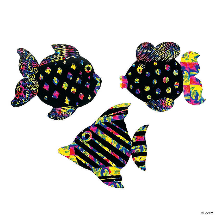Magic Color Scratch Fish Ornaments Audio Thumbnail