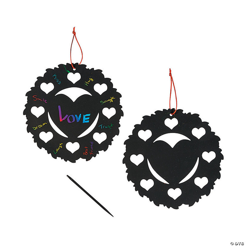 Magic Color Scratch Heart Wreaths Audio Thumbnail