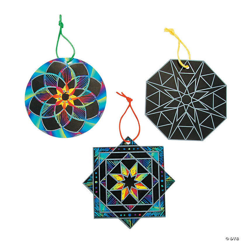 Magic Color Scratch Kaleidoscope Ornaments Audio Thumbnail
