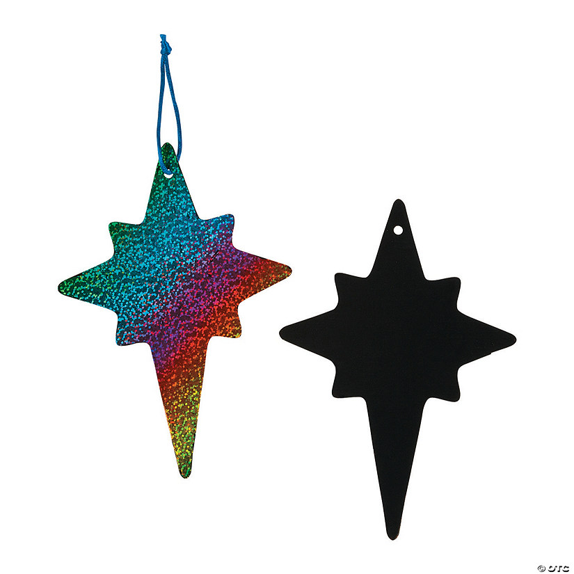 Magic Color Scratch Nativity Star Ornaments Audio Thumbnail