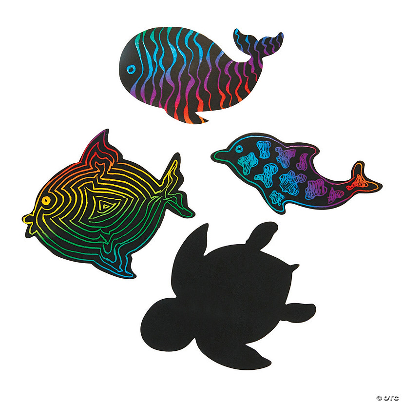 Magic Color Scratch Sea Life Shapes Audio Thumbnail