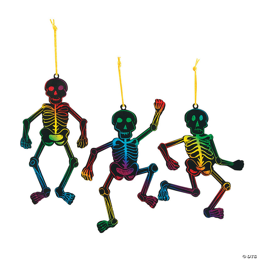 Magic Color Scratch Skeleton Ornaments Audio Thumbnail