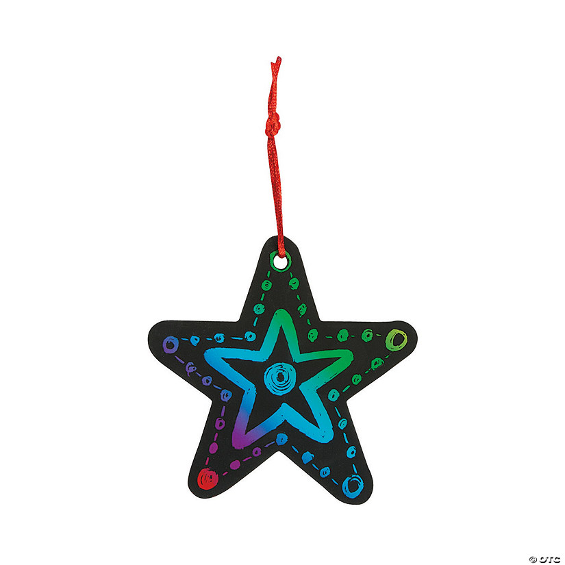 Magic Color Scratch Star Christmas Ornaments Audio Thumbnail