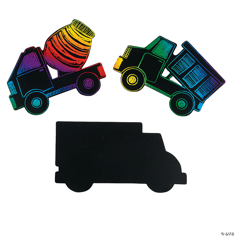 Magic Color Scratch Trucks Image Thumbnail