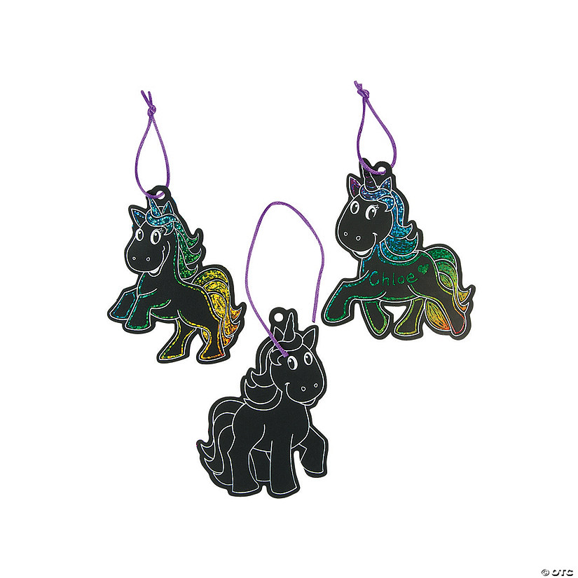 Magic Color Scratch Unicorn Ornaments Audio Thumbnail