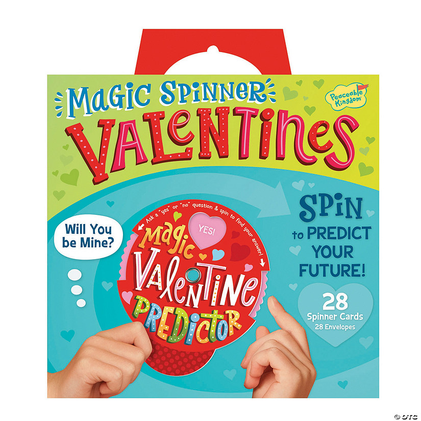 Magic Spinner Super Fun Valentines Pack  Image Thumbnail